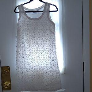 Vineyard vines dress, white dress, size 4 dress,